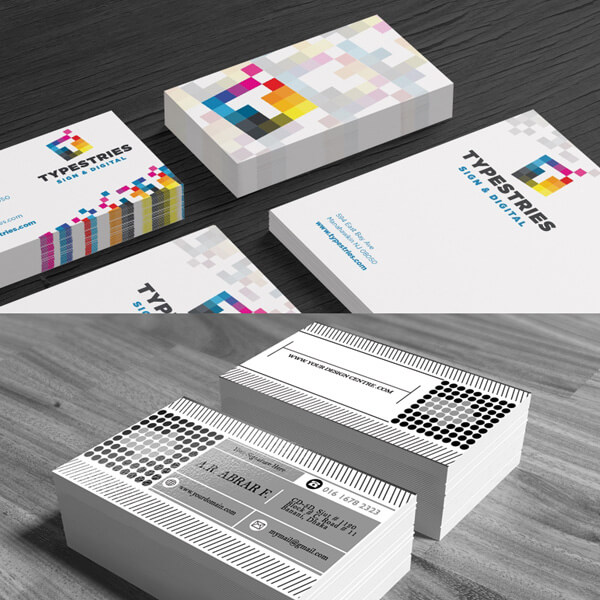 Matt laminated business cards quikk media is design and print product description gloss laminated business cards colourmoves Image collections